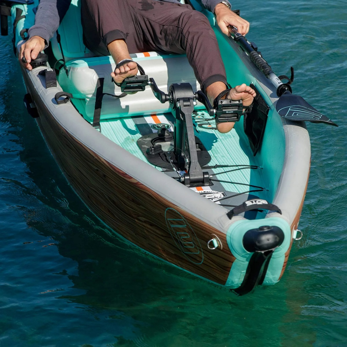 BOTE Apex Pedal Drive   Rudder System - P2