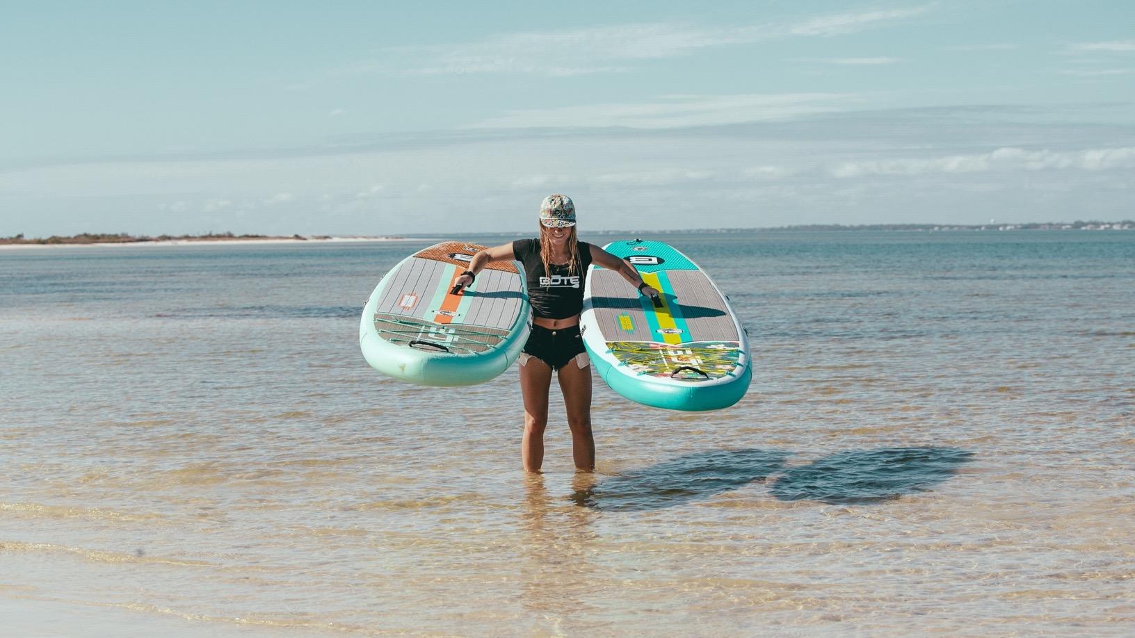 BOTE Breeze Aero Inflatable Paddle Board - Photo 1