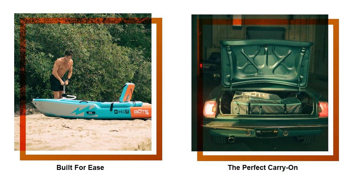 BOTE Deus Aero Inflatable Kayak - Ease