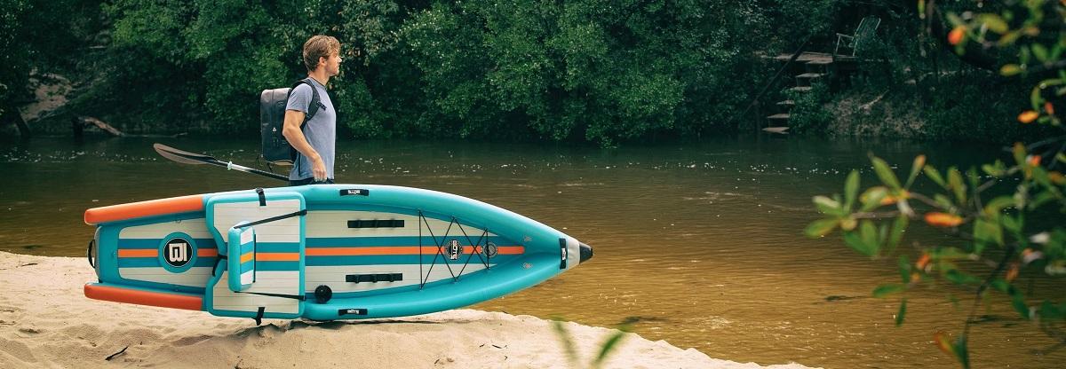 BOTE Deus Aero Inflatable Kayak - Lifestyle