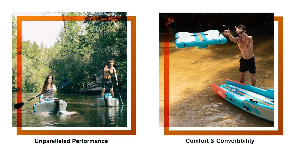 BOTE Deus Aero Inflatable Kayak - Performance