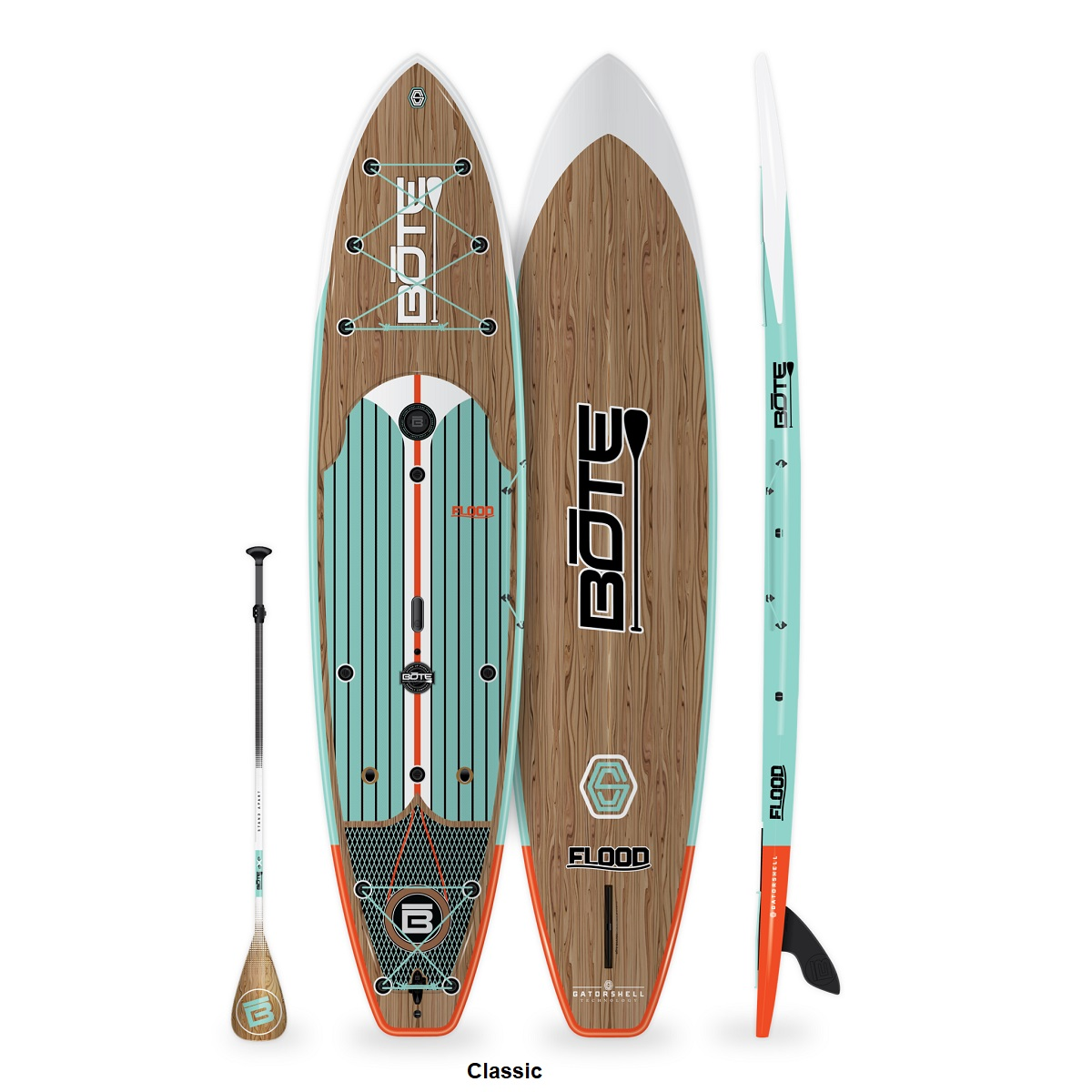 BOTE Flood 12' Paddle Board - Classic