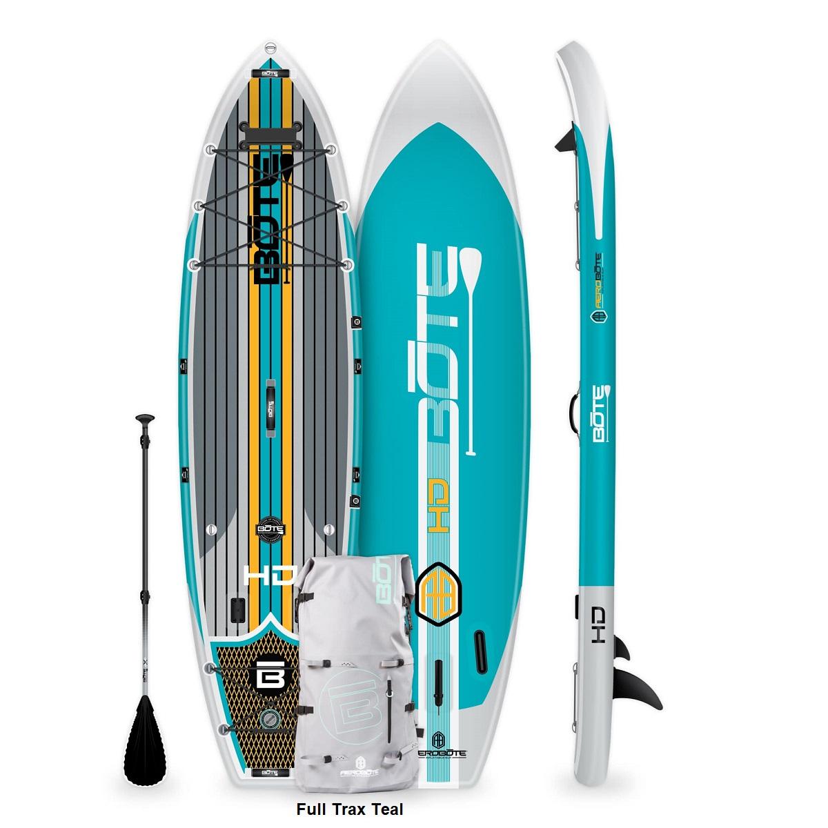 BOTE HD Aero Paddle Board - Full Trax Teal