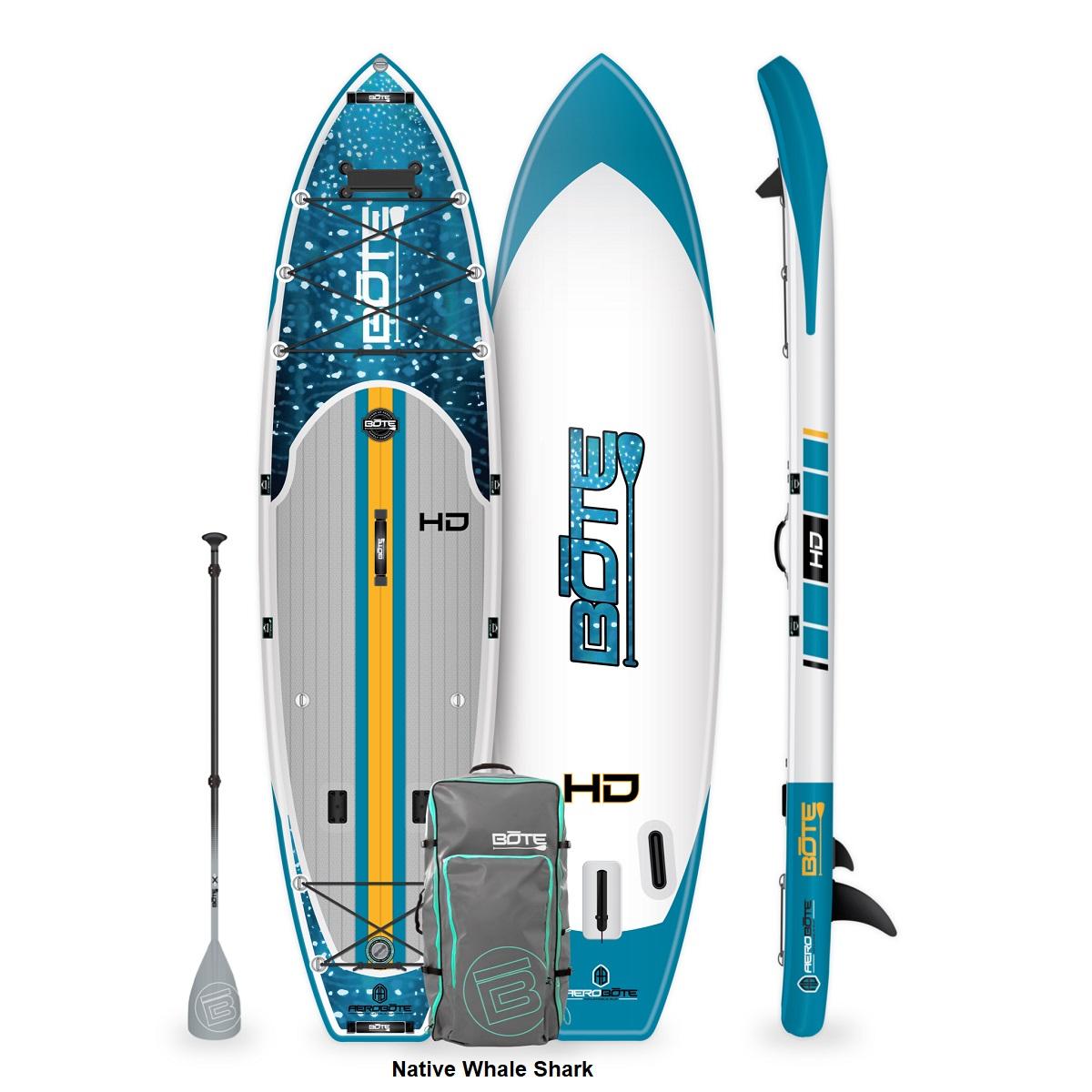 BOTE HD Aero Paddle Board - Native Whale Shark