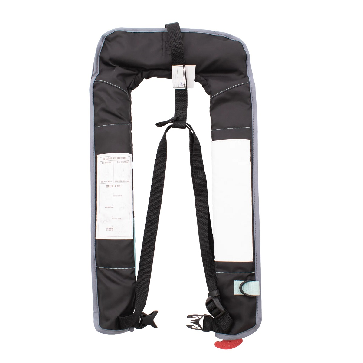 BOTE Inflatable Vest PFD - Back View