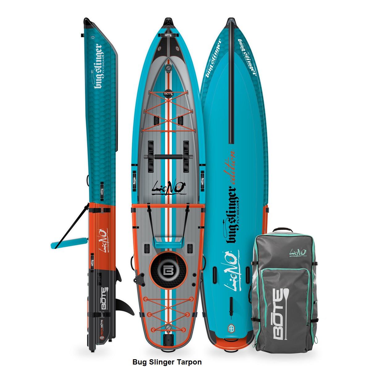 BOTE Lono Inflatable Kayak - Bug Slinger Tarpon