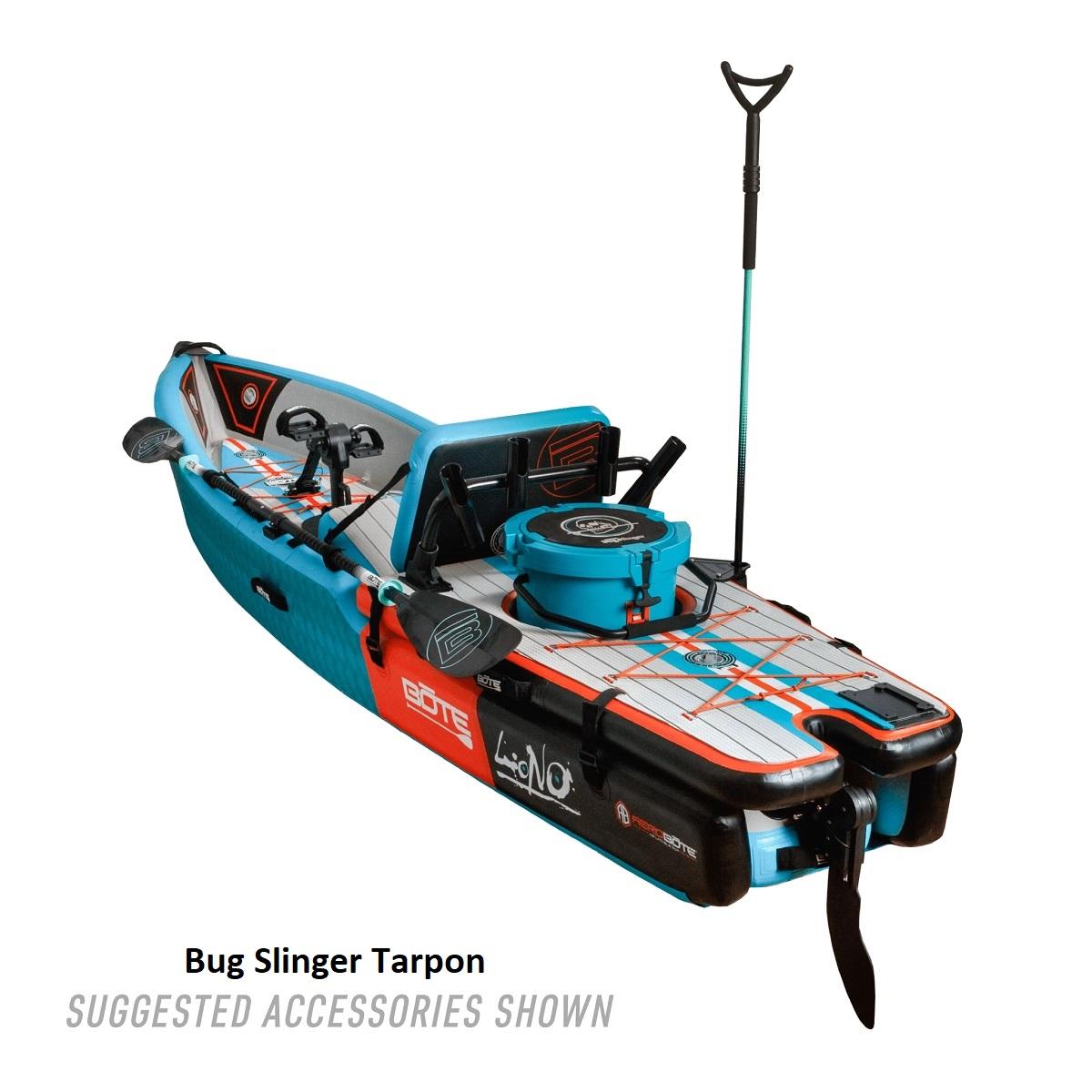 BOTE Lono Inflatable Kayak - Bug Slinger Tarpon 2