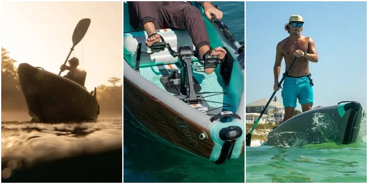 BOTE Lono Inflatable Kayak - Configurations