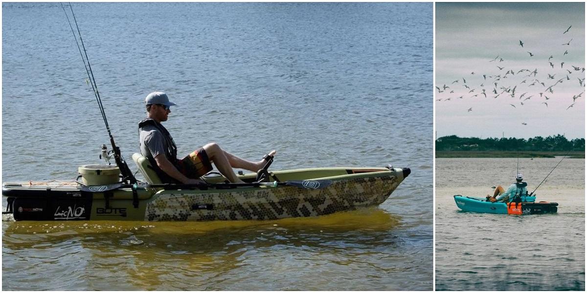 BOTE LONO Inflatable Kayak - Fishing