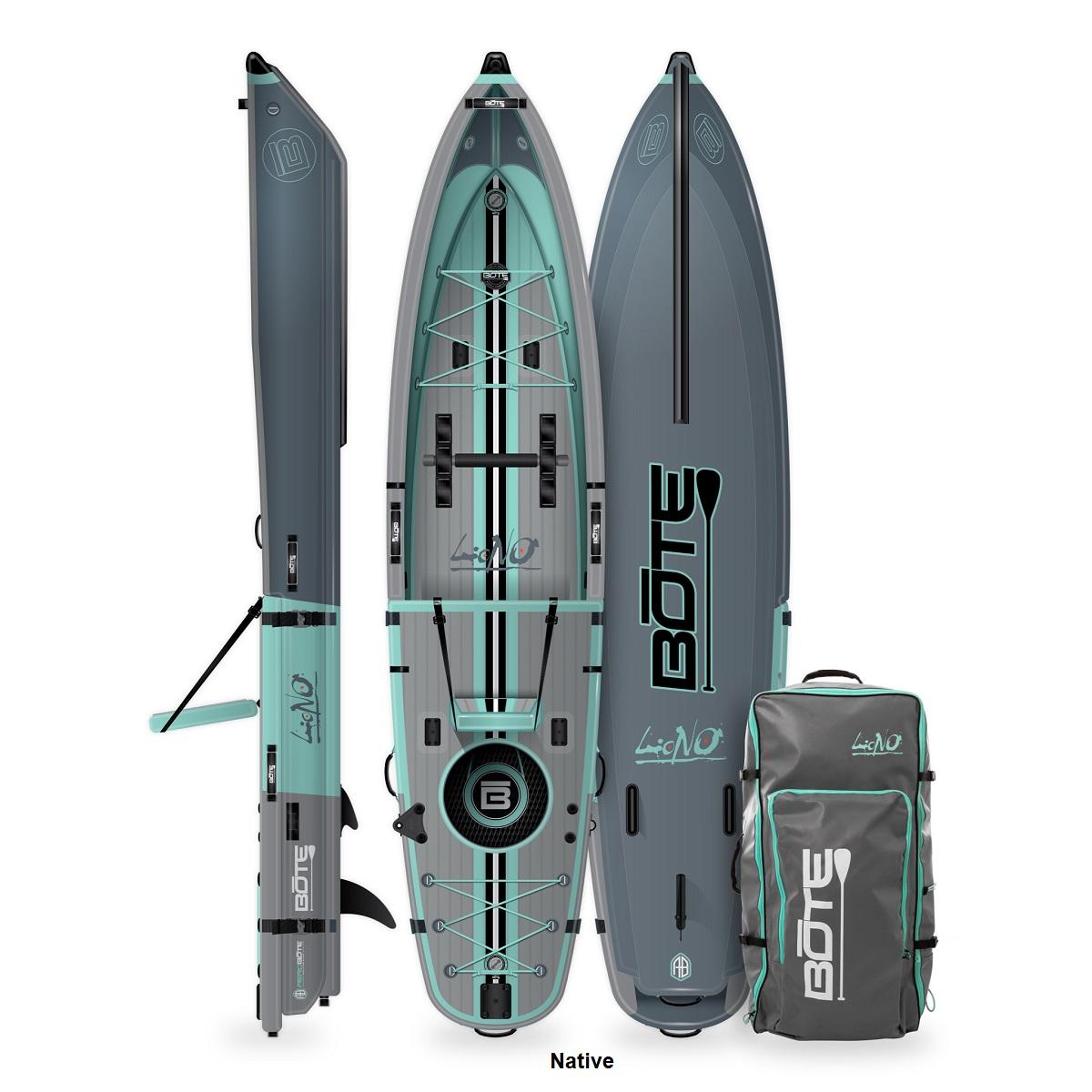 BOTE Lono Inflatable Kayak - Native
