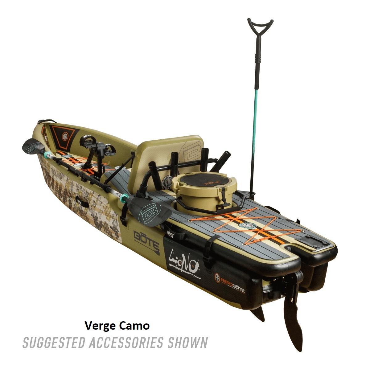 BOTE Lono Inflatable Kayak - Verge Camo 2
