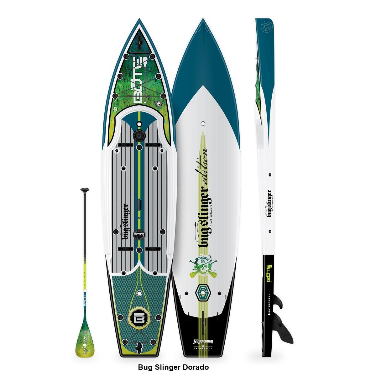 BOTE Rackham 12' Paddle Board - Bug Slinger Dorado