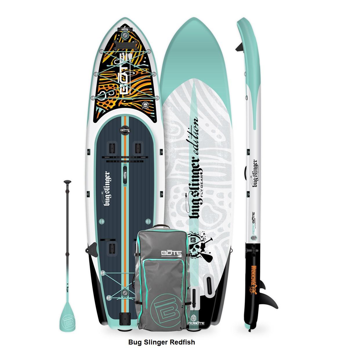 BOTE Rackham Aero Inflatable Paddle Board- Bug Slinger Redfish