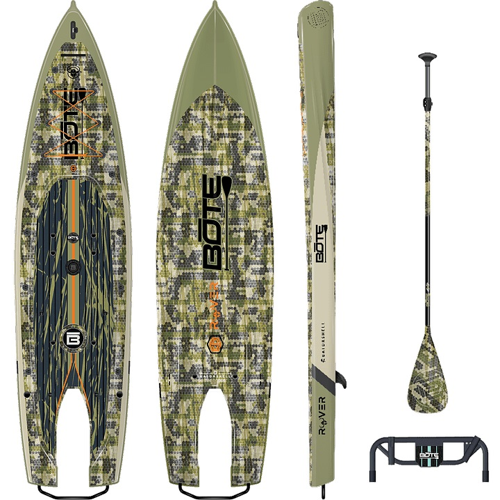 BOTE Rover Paddleboard - Gatorshell Verge Camo