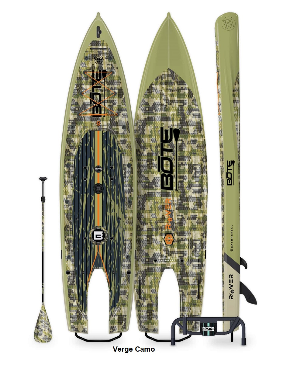 BOTE Rover Motorized Paddle Board - Verge Camo