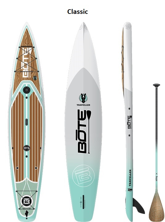 "Bote Traveller 12'-6"" Paddleboard - Classic"