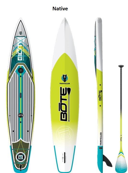 "BOTE Traveller 12'6"" Paddleboard - Native"