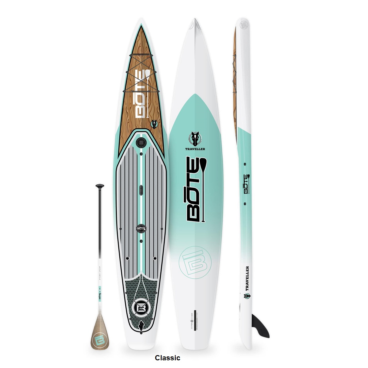 BOTE Traveller 14' Paddle Board - Classic