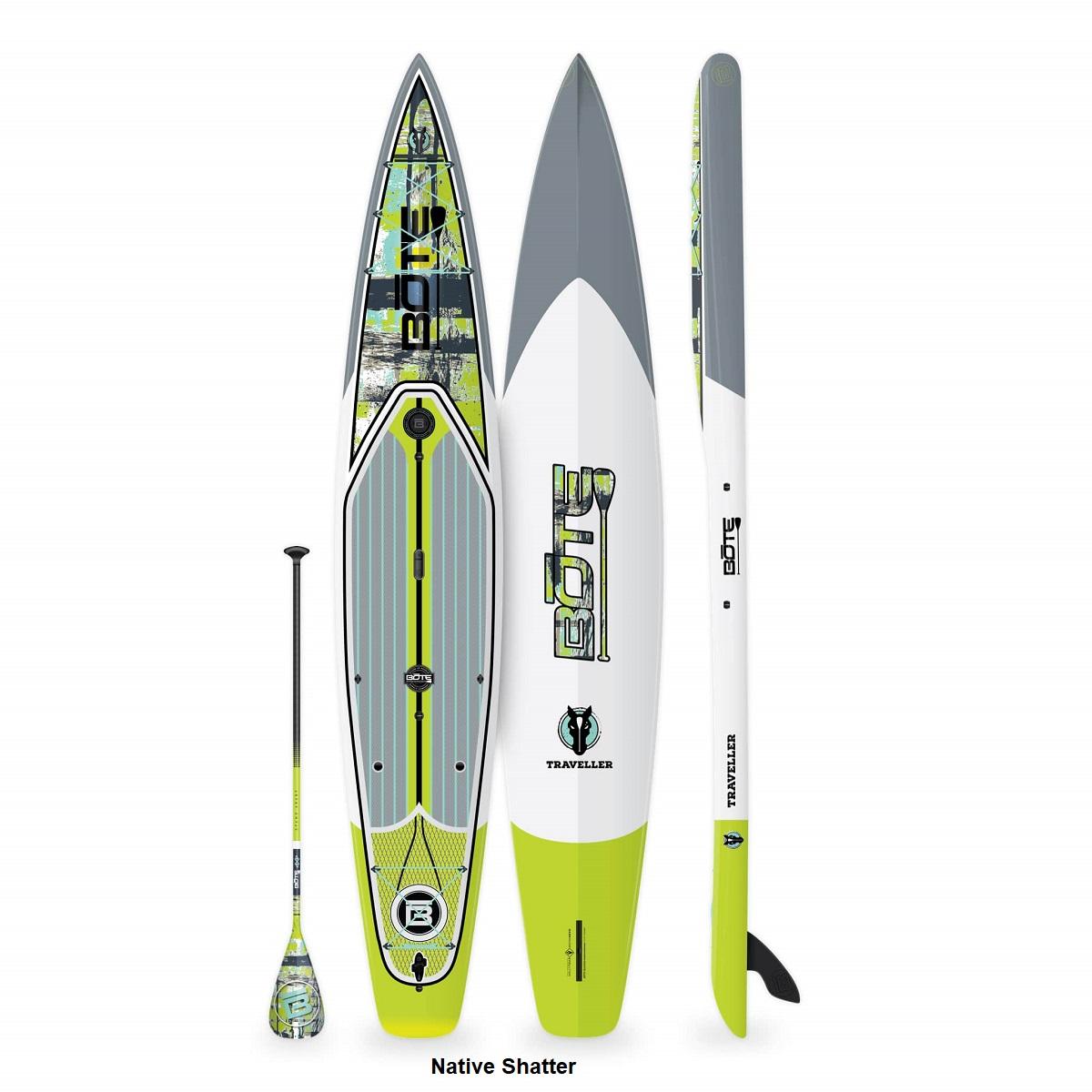 BOTE Traveller 14' Paddle Board - Native Shatter
