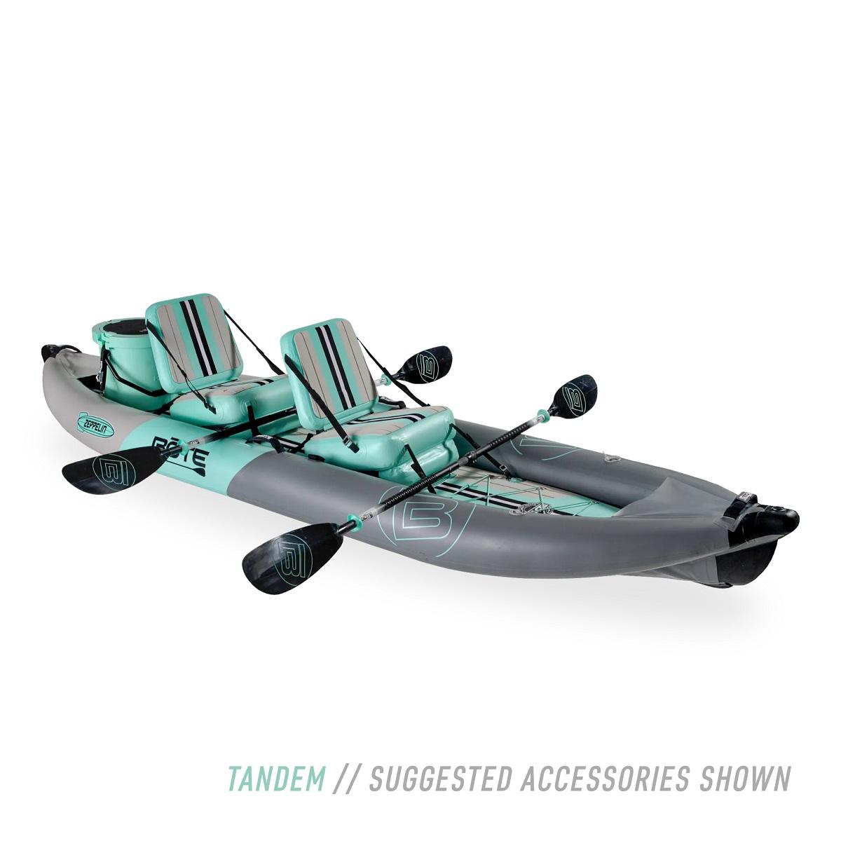 BOTE Zeppelin Aero Inflatable Kayak - Tandem View