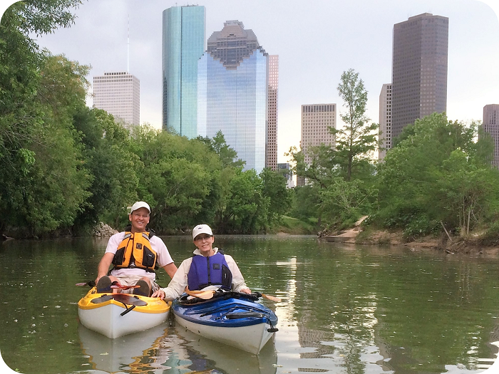 Buffalo Bayou Kayak / SUP Tour - Houston, Texas