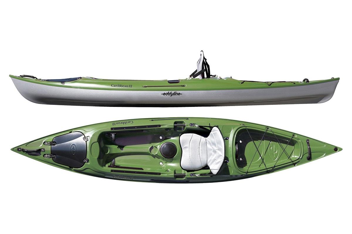 Eddyline Caribbean 12 Kayak - Seagrass / Silver