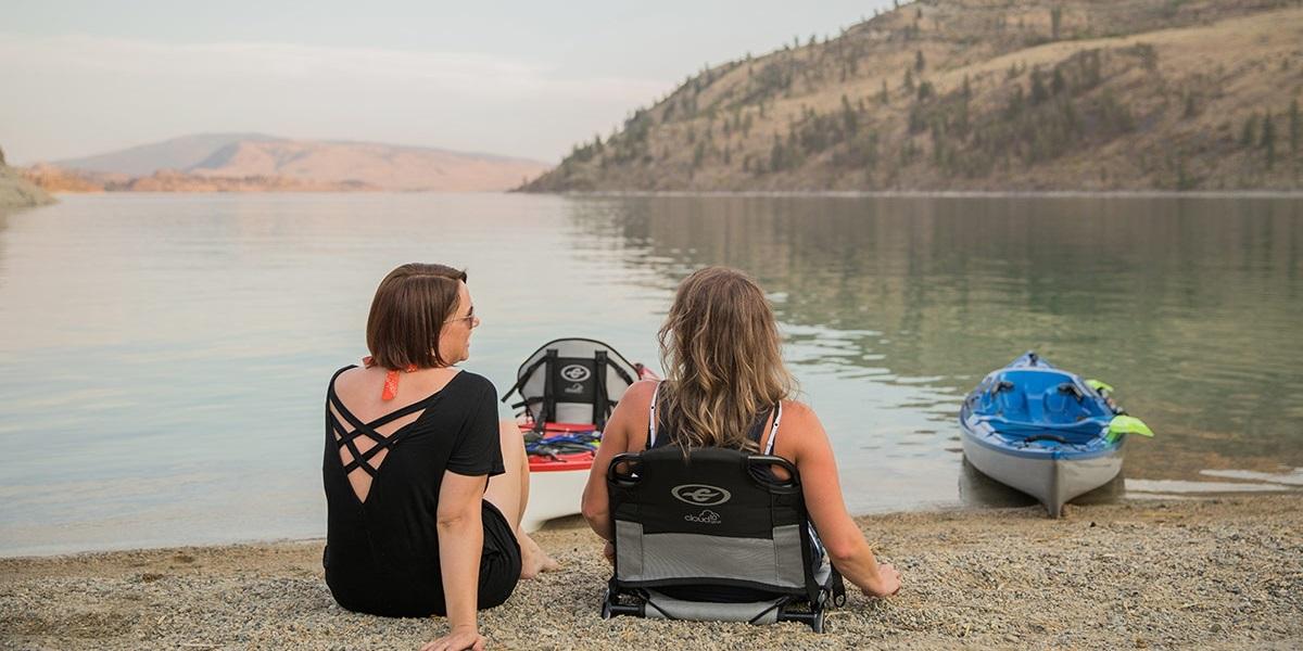 Eddyline Caribbean 12FS Kayak - Frame Seat