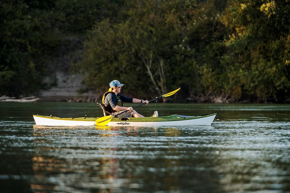 Eddyline Caribbean 12FS Kayak - Seagrass On The Water