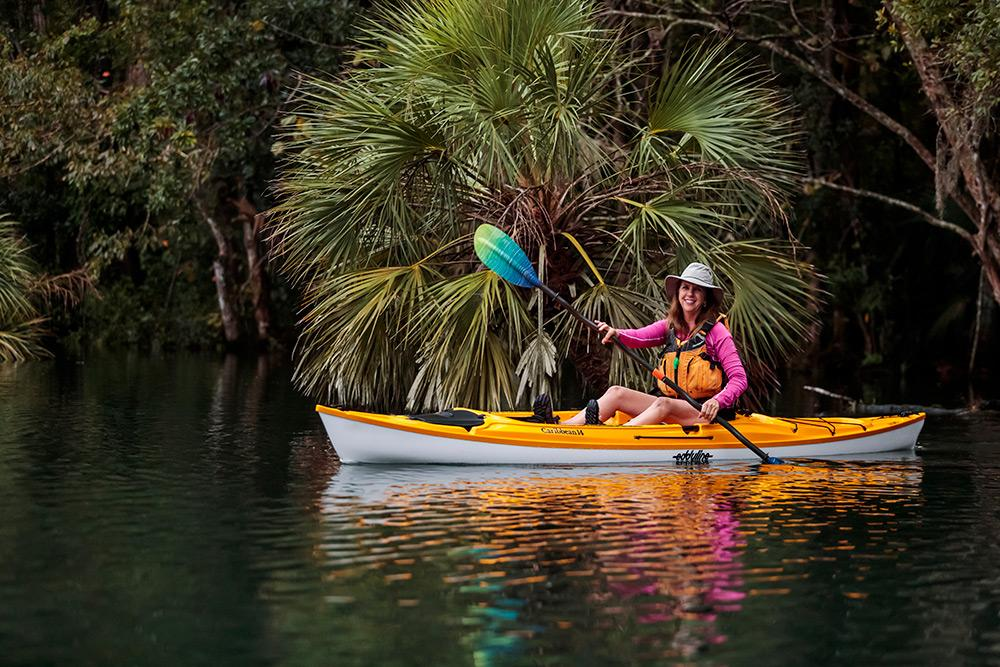 Eddyline Caribbean 14 Sit-On-Top Kayak - On The Water 1