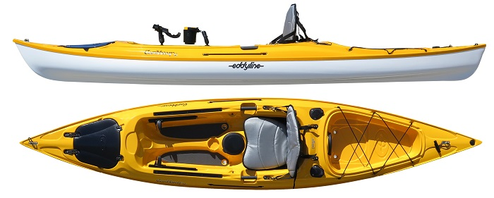 Eddyline Caribbean 12 Angler Edition Fishing Kayak