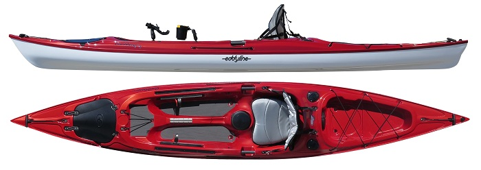 Eddyline Caribbean 14 Angler Edition Fishing Kayak