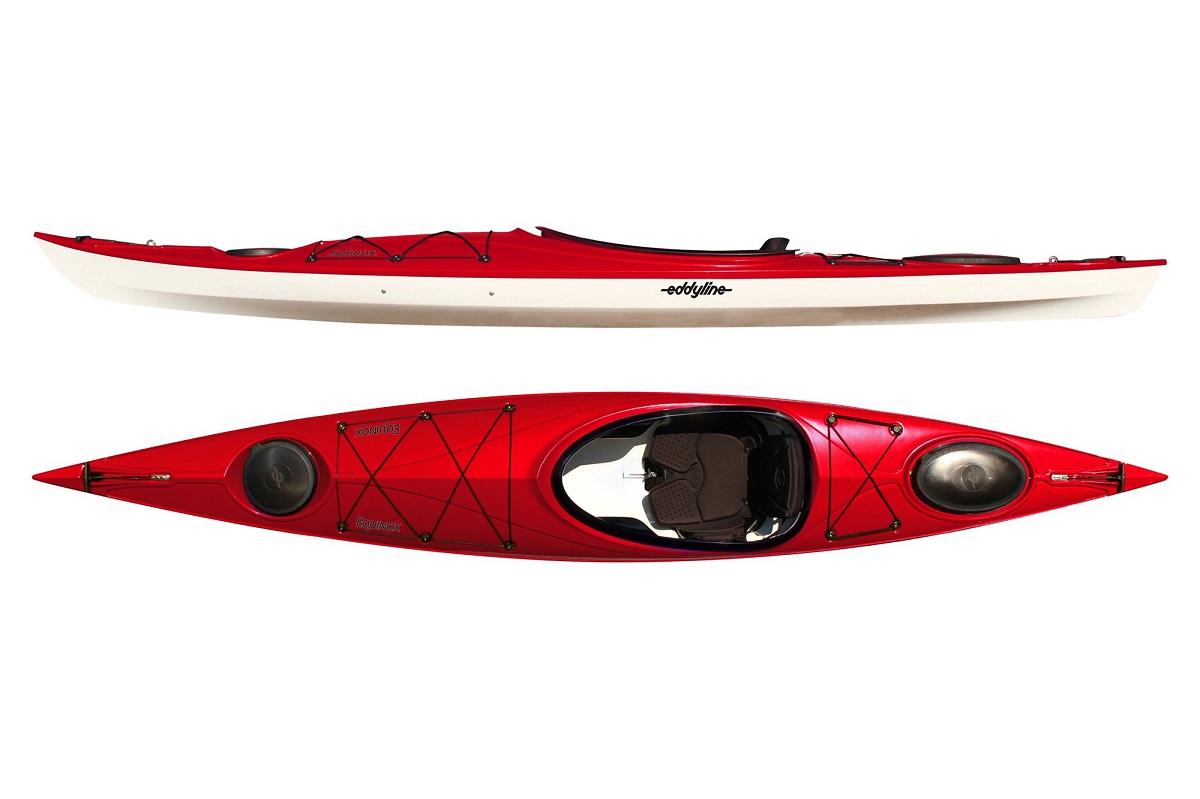 Eddyline Equinox Kayak - Red Pearl /White
