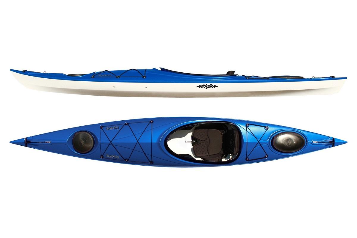 Eddyline Equinox Kayak - Sapphire Blue /White