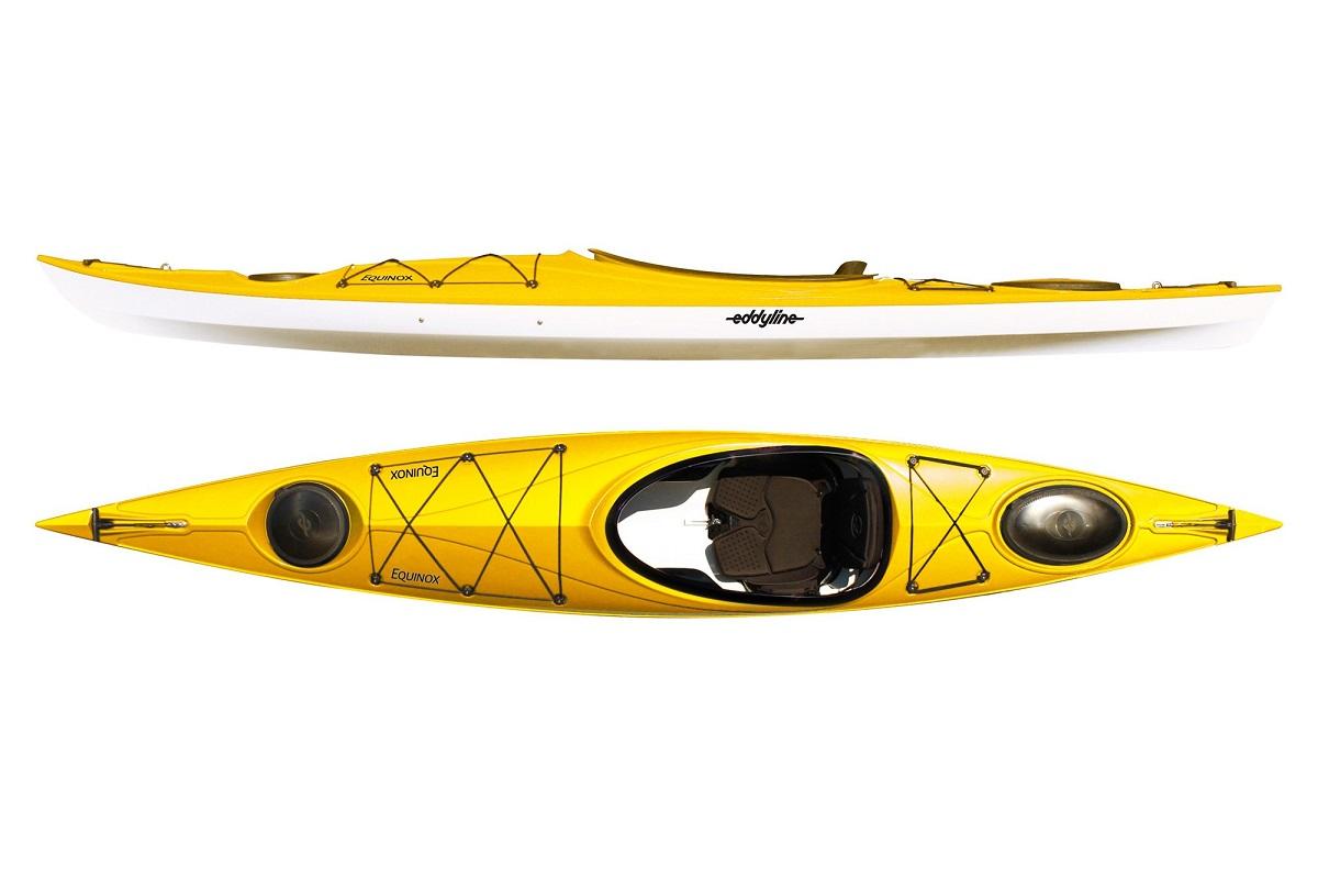 Eddyline Equinox Kayak - Yellow /White