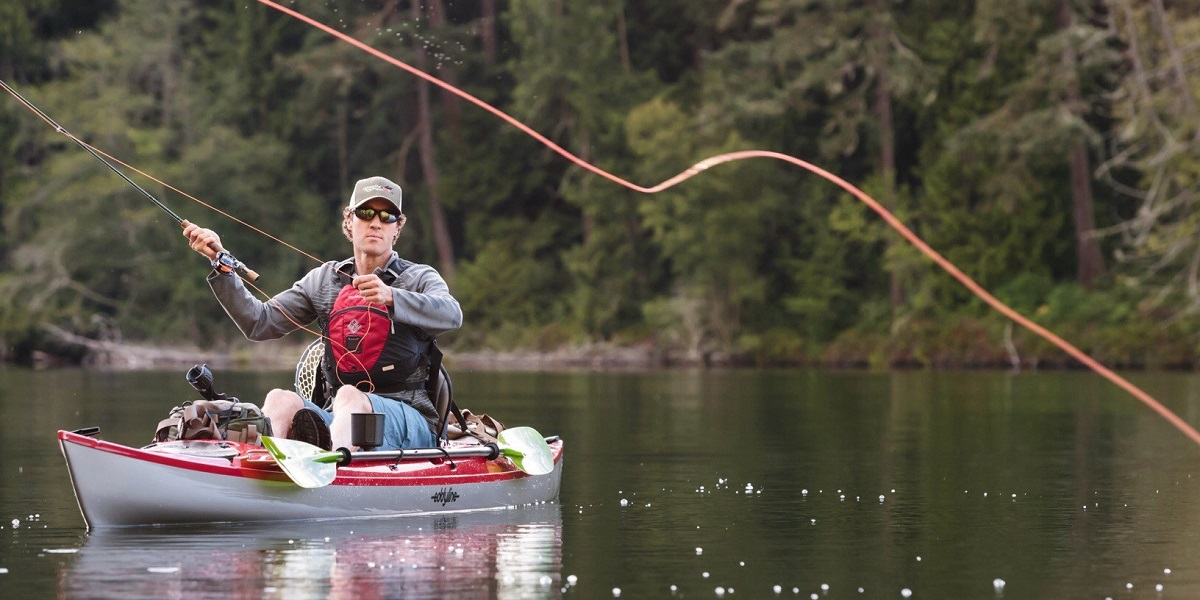 Eddyline Fishing/Sit-On-Top Kayaks - Fly Casting