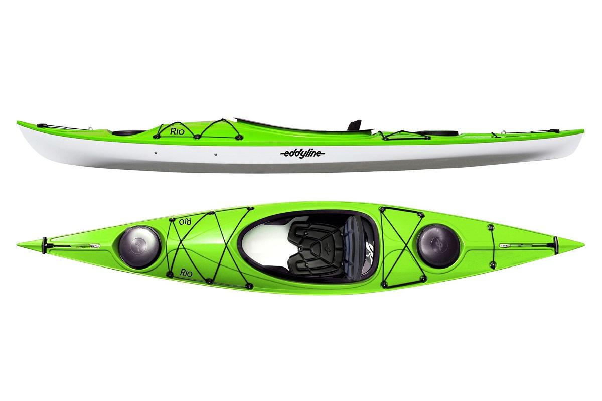 Eddyline Rio Kayak - Lime / White