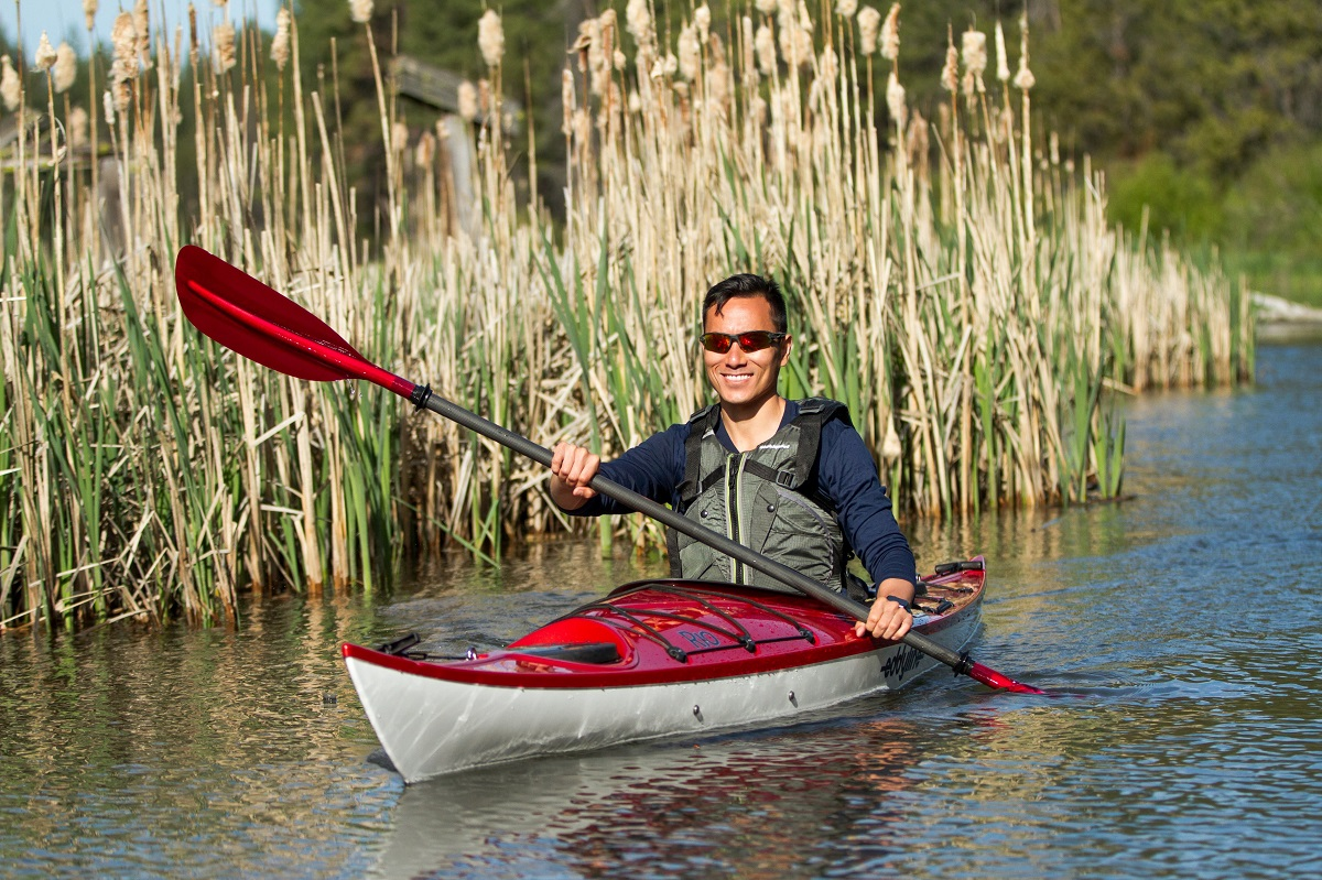 Eddyline Rio Kayak - On The Water 2