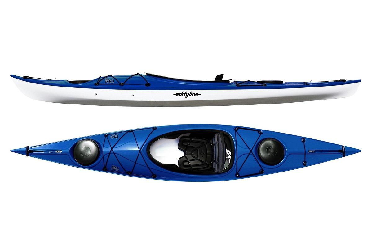 Eddyline Rio Kayak - Sapphire Blue / White