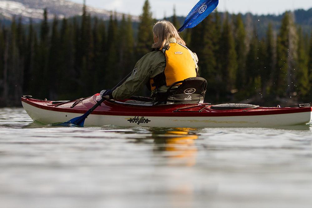 Eddyline Sandpiper 130 Kayak - On The Water 1