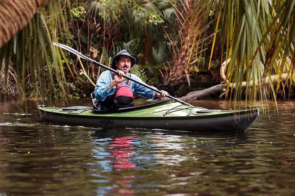 Eddyline Sandpiper 130 Kayak - On The Water 2