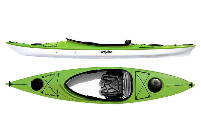 Eddyline Sandpiper Kayak - Lime / White
