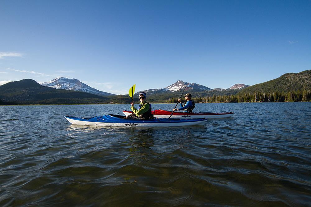 Eddyline Sandpiper Kayak - On The Water 1