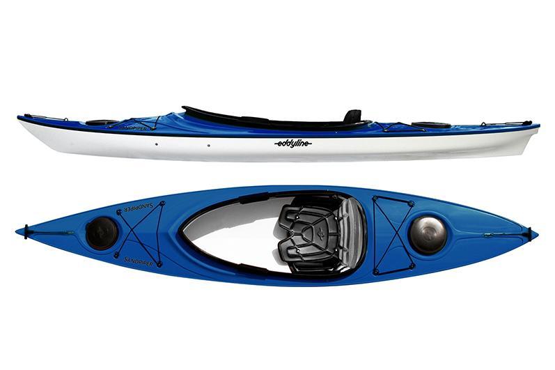Eddyline Sandpiper Kayak - Sapphire Blue / White