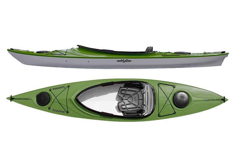 Eddyline Sandpiper Kayak - Seagrass / Silver