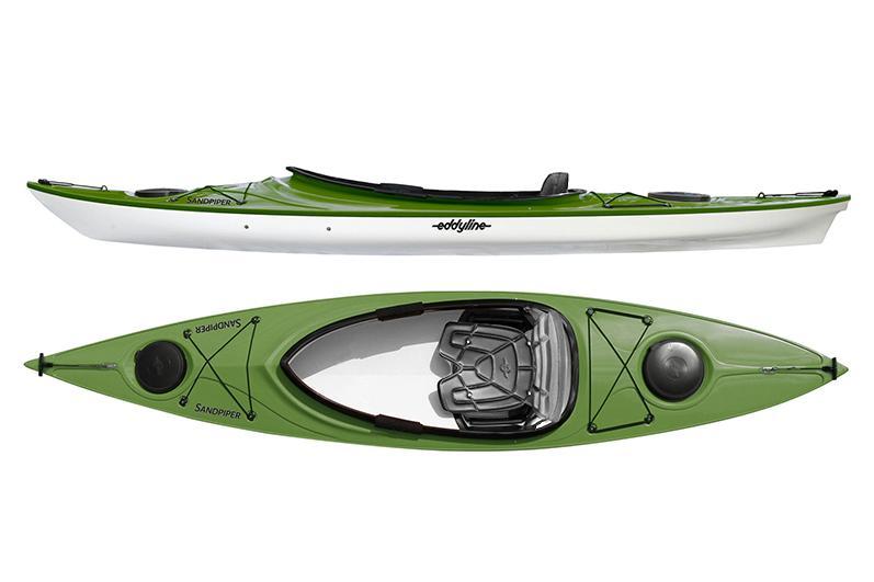 Eddyline Sandpiper Kayak - Seagrass / White