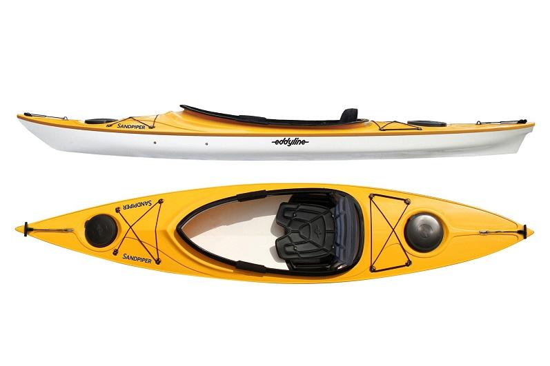 Eddyline Sandpiper Kayak - Yellow / White