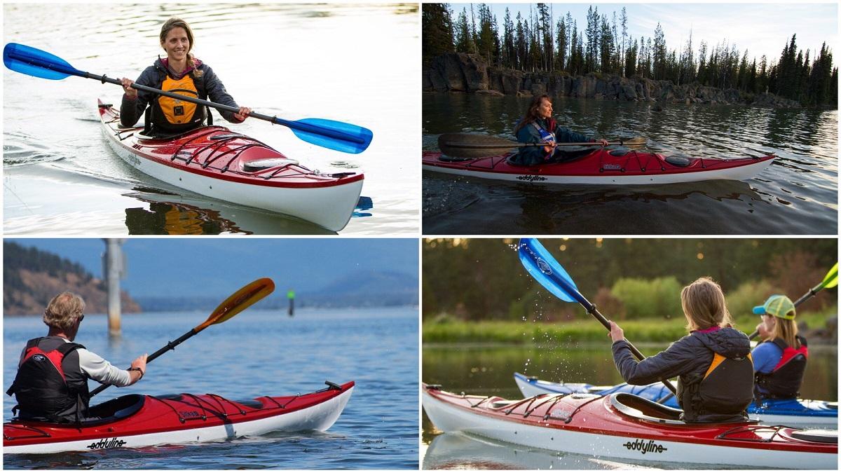 Eddyline Sitka Touring Kayak - Photos