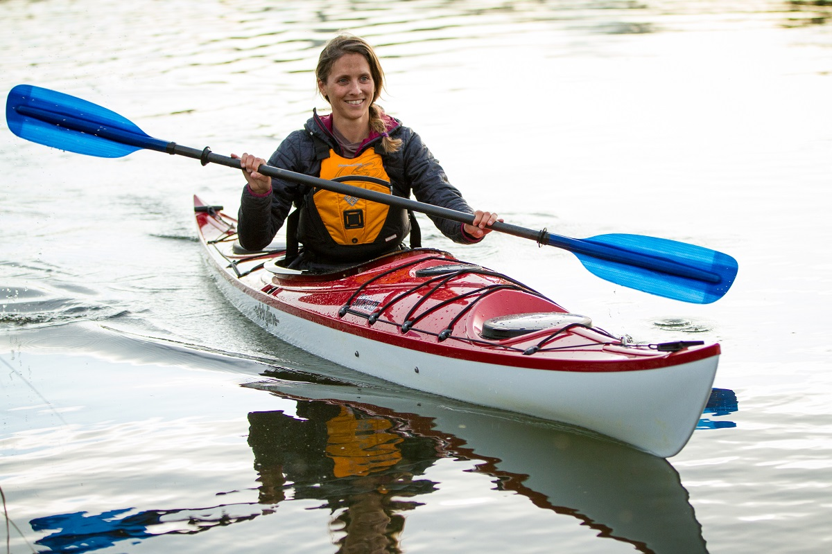 Eddyline Sitka LT Kayak - On The Water 2