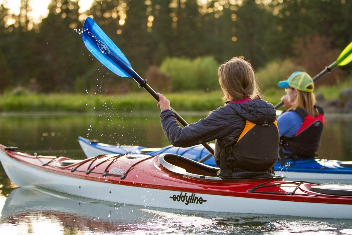 Eddyline Sitka LT Kayak - On The Water 3