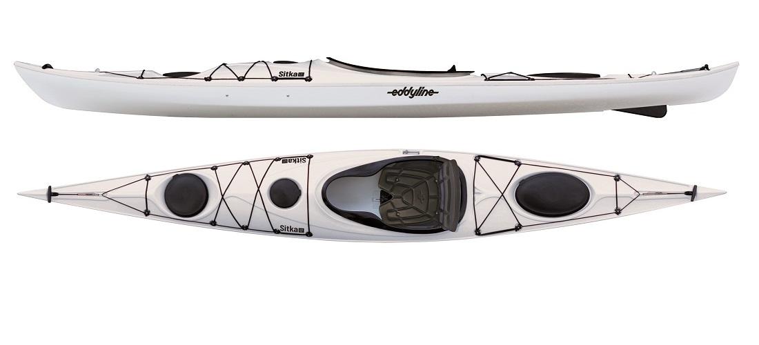 Eddyline Sitka LT Touring Kayak - White